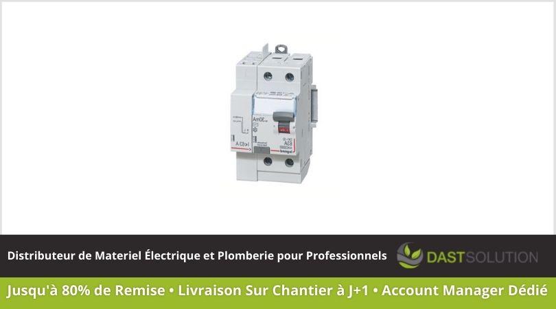 Modulaire Legrand Interrupteur différentiel 2P 230V ~ 63A 30mA VIS/AUTO