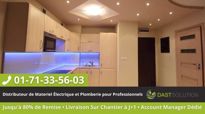 Eclairage LED dast solution cuisine
