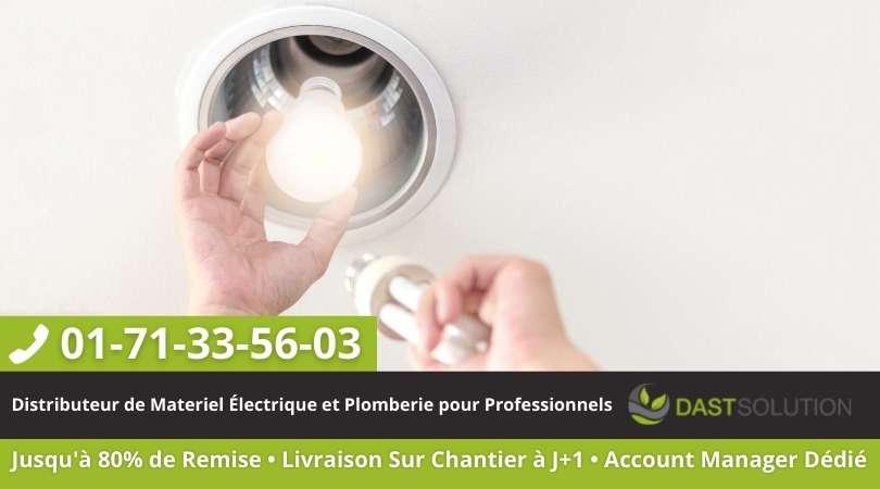 Eclairage LED dast solution ampoule